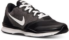 Nike Women's In-Season TR 4 Training Sneakers from Finish Line #black #gray #nike #sneakers #fashion