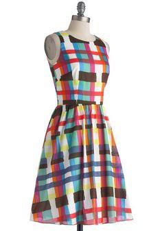 Swatch and Listen Dress | Mod Retro Vintage Dresses | ModCloth.com