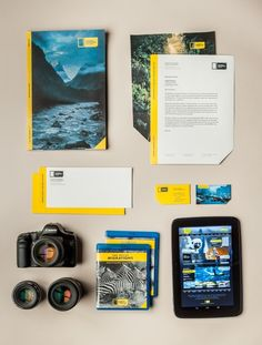 UCreative.com - National Geographic Rebranding Project by Justin Marimon | UCreative.com
