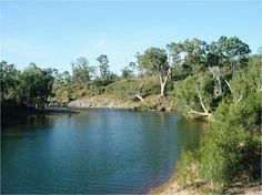 Big Bend, Burdekin River, Charters Towers, Queensland, Australia