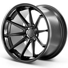 Ferrada Wheels Matte Black Gloss Black Lip Wheels for Sale Rims For Sale, Wheels For Sale, Truck Rims, Truck Wheels, Rims And Tires, Wheels And Tires, Audi Sedan, Solar Car, Vossen Wheels