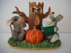 """1997 CHARMING TAILS """"GHOST STORIES"""" MOUSE FIGURINE 85/703 - ORIGINAL BOX   eBay"""