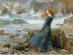 John William Waterhouse: Miranda 1916