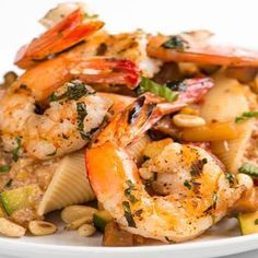grilled gulf shrimp and ratatouille pasta more grilled gulf seafood ...