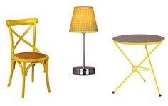 Cadeira Paris amarela, Maria Pia Casa (mariapiacasa.com.br)