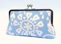 Bridal clutch bag, duck egg blue wedding clutch, bridesmaid clutch, blue evening clutch, clutch purse, wedding purse, something blue clutch on Etsy, £31.12