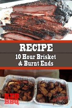 This is a strictly Texas-style way to cook brisket and burnt ends. Included are some tips for smoking large cuts on a small smoker such as the WSM. Pot Roast Recipes, Pork Recipes, Best Pot Roast, Smoked Pulled Pork, Smoked Beef Brisket, Cooking Pumpkin, Smoking Recipes, Burnt Ends, Pork