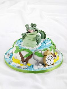 Tic Toc time for cake anyone? A design created for Disney Cakes & Sweets magazine
