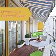 Enjoy your own #outdoor space with these five clever ways to beautify your #apartment #balcony!