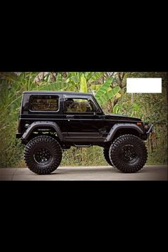 SUZUKI SAMURAI SIERRA. I know it looks like a big toy but I have to get that car, its been a childhood want.