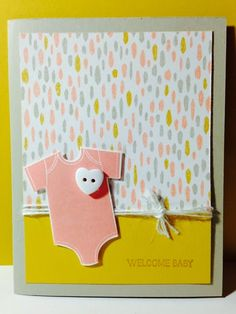 Stampin' in the Sun!: Something for Baby Girl or Boy