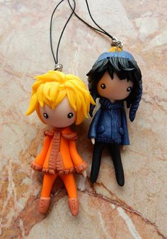 Made of polymer clay. I'm so love with crenny… because of hun. Never shipped them so hard before. It's all your fault. ♥ Thanks a lot for being my P³. u /v/ u