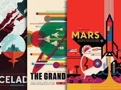 Check Out NASA's New WPA-Inspired Ads For Space Tourism | Co.Design | business + design
