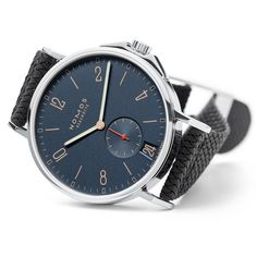 NOMOS Glashütte Ahoi Atlantik & Atlantik Datum Into the deep blue - The NOMOS watch for sports fans and captains of industry alike is the ideal accompaniment and now Ahoi has an addition to the family