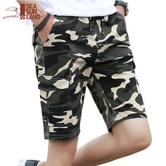 93fe5fb3e SeaSunLand Camouflage Camo Shorts Men 2017 New Arrival Mens Casual Shorts  Male Work Shorts Man Military Short Pants Plus Size-in Shorts from Men's  Clothing ...