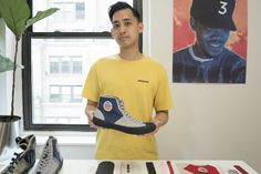 Designing a Sneaker From Scratch With Jon Tang of FRONTEER