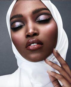 Bridal Beauty, Bridal Makeup, Makeup Inspo, Makeup Inspiration, Skin Makeup, Beauty Makeup, White Eye Makeup, Bold Eye Makeup, White Eyeshadow