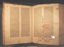 Where is Downton Library's Gutenberg Bible?
