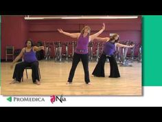 NIA for every body ▶ Short NIA Demonstration - YouTube - ex. of Nia in a chair