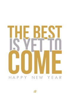 #LostBumblebee 2013 - The Best Is Yet To Come! - Free PRINTABLE #NEWYEARS