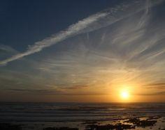 por do sol sunset ceu azul | Fotografia de  . Joao Pires | Olhares.com