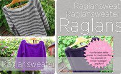 Gratis opskrift på Raglansweater
