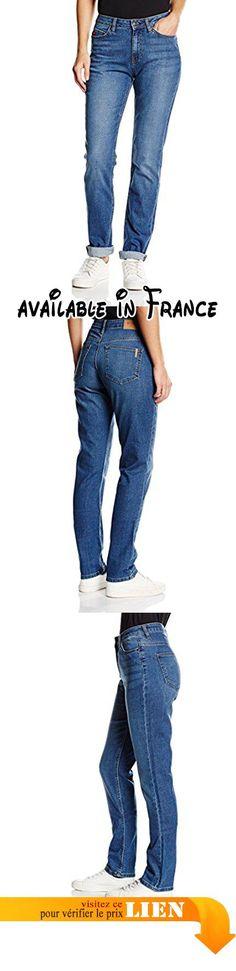 B01CJNYJ52 : Big Star Denim Linda Jeans Femme Bleu-Blau (Medium 369) Taille 44/Entrejambe L34.