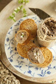 Paté de champiñones y anacardos