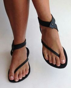 I like this style - the openness of the sandals. I would love them in other bright colors.