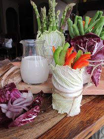 Purple Chocolat Home: Vegetable Board and Restaurant Style Ranch Dressing