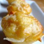 Mini muffins jambon cru & parmesan