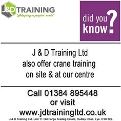 Did you know we also offer crane training at http://ift.tt/1HvuLik #training #safety #jobsearch