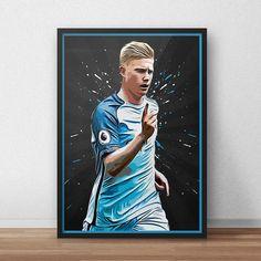 Kevin De Bruyne  Manchester City  Manchester by TroutLifeStudio