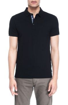 Armani Exchange Mens Classic Pique Polo. BUY it on Amazon: http://amazonpartner.us/?p=369