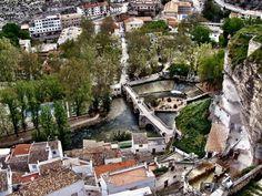 Panorámica de Alcalá del Júcar (Alcalá del Júcar - Spain)