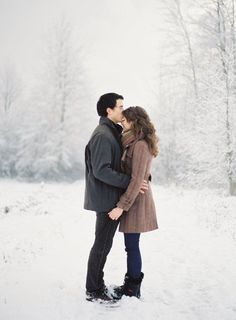 If only Michigan had snow this year... I would have loved engagement pictures in the snow!