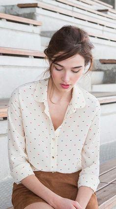 street style button down shirt @wachabuy