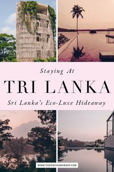 Tri Lanka is the chic boutique hotel that's taken Sri Lanka by storm. Eco-friendly design meets luxe at this design hotel in Sri Lanka. Take a peek at the breathtaking infinity pool, villas with private pools and luxe amenities at this cool hotel. It's the perfect honeymoon destination or luxury break. #travel #srilanka #hotels #luxury Travel Route, Asia Travel, Travel Tips, Villa With Private Pool, Honeymoon Destinations, Luxury Travel, Best Hotels, Sri Lanka, Eco Friendly