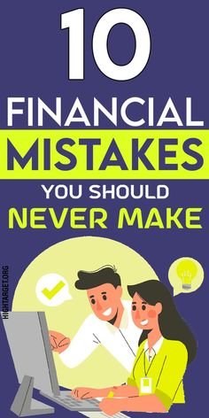 Money is a thing you can easily make mistakes with, though you should not. People make mistakes, and being human, it's our nature to make mistakes in every field of life, but some mistakes cost you even your life, such as consequential financial mistakes. #money #mistakes #entrepreneurs #millionaires #business #financial