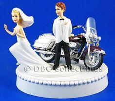 harley davidson wedding cakes - Google Search