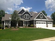 Eastbrook home/Birkshire model - we picked these exact same colors for our new house!!