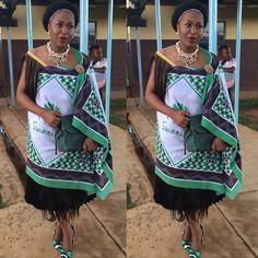 Swazi traditional Attire