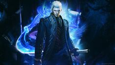 Devil May Cry 4 SE Vergil wallpaper by TheSyanArt on DeviantArt