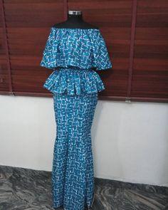 #mosunogunusi#skirt and peplum blouse.# Ankarafashion#