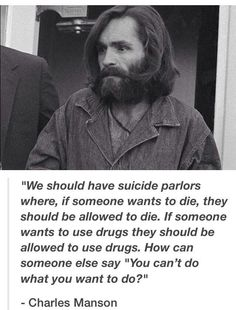 Argumentative research paper about Charles Manson?