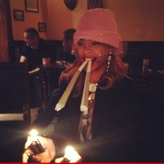 Rihanna -- Let's Be Blunt ... The Chick Loves Big Weed
