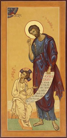 God and Jesus Christ Religious Images, Religious Icons, Religious Art, Byzantine Icons, Byzantine Art, St Joseph, Religion, Russian Icons, Children's Picture Books