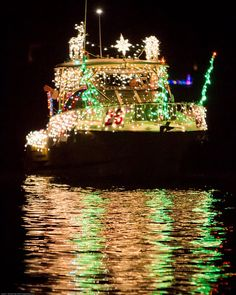 Florida at Christmastime. Now THEY know how to have a Christmas boat parade! I miss it so much!