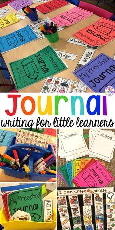 Journal Writing for Preschool, Pre-K, and Kindergarten - Pocket of Preschool