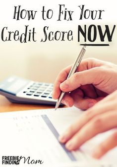 "If you're in a bad spot and asking ""how can I fix my credit score now?"", this article is for you. Use the six tips to get started today!"